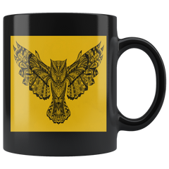 Gold Owl Mug - I AM FIERCE !