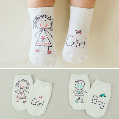 Newborn Baby Anti-slip Cotton Socks