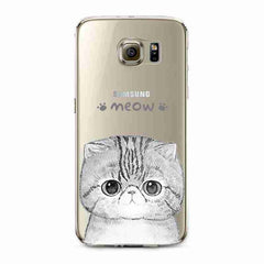 Cute Kitty Samsung Galaxy Phone Case