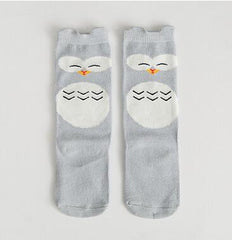 Kitty Socks for Babies (Floor Safe)
