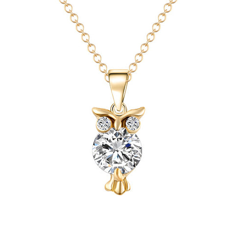 Owl Pendants Necklace - Free Plus Shipping Promotion