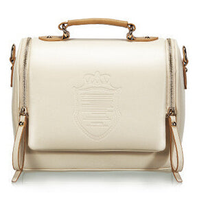 British Crown Retro Messenger Handbag