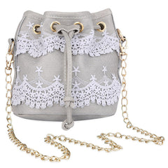Women Lace String Handbag - Free Plus Shipping Promotion