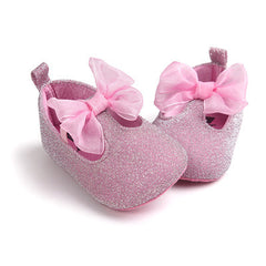 Princess Heart-Shaped Prewalkers Baby Shoes