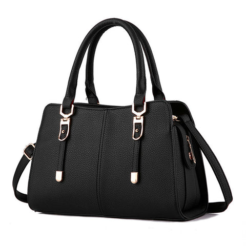 Women Fashion Simple Shoulder Messenger Handbag