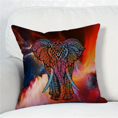 FREE 3D Elephant Multicolor Pillow Covers