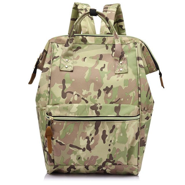 Camo Women fashion backpacks