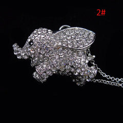 Free Cute Elephant Pendant Women's Necklace
