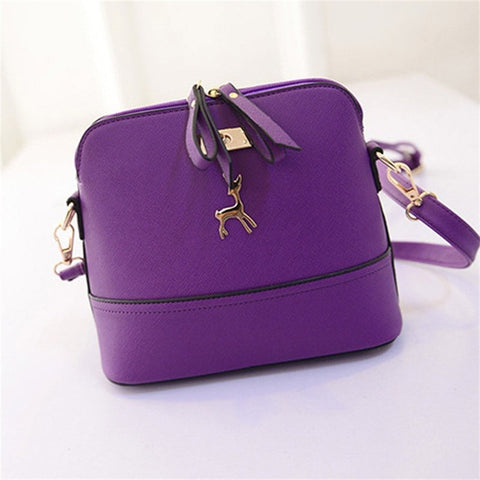 Women Leather Multi Tone Handbag - Free Plus Shipping Promotion