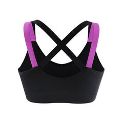 Woman's Back Cross Compression Sports Bra