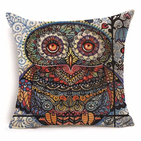 Owl Fashion Pillow Covers