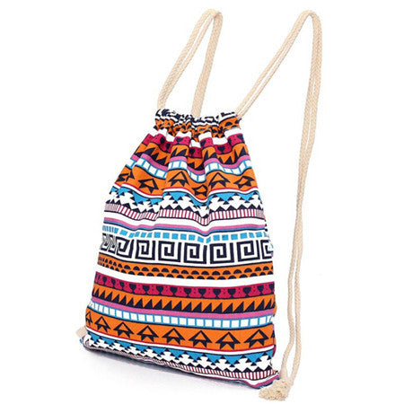Girls Retro Geometric Backpacks - Free Plus Shipping Promotion