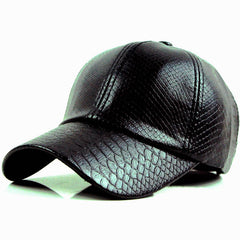FREE Leather Baseball Cap Hip Hop Snapback For Men And Women