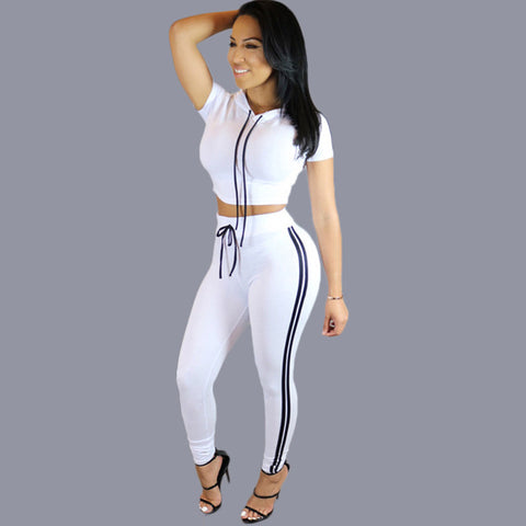 Women Casual 2 Piece Tracksuit