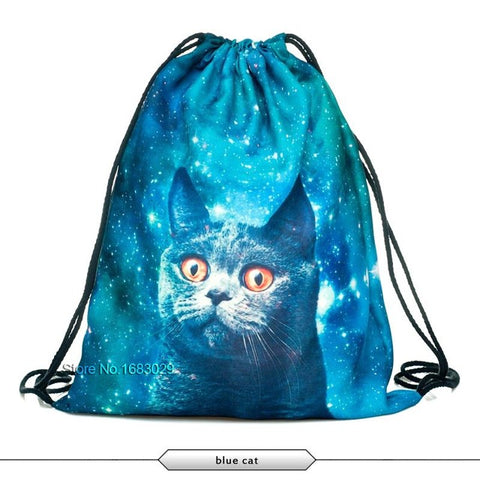 Cat Schoolbags Backpacks