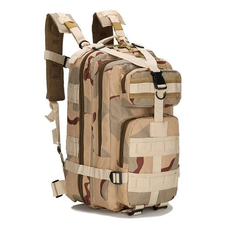New Khaki Camouflage Military Equipment Backpack