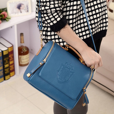 Women Barrel Shaped Handbags - Free Plus Shipping Promotion