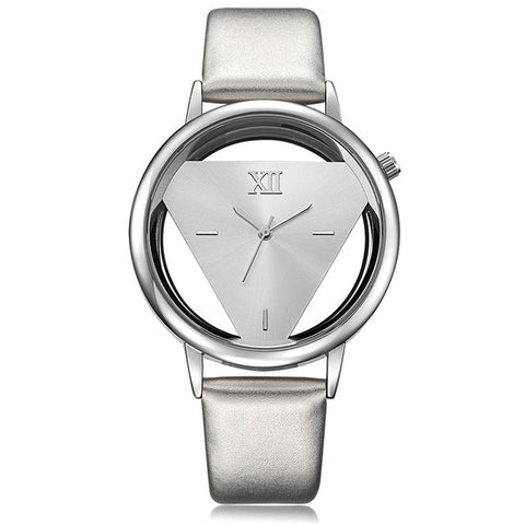 Women Quartz Analog Hollow Designer Watch