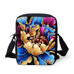 Fashion Animal Owl Printed Messenger Bags