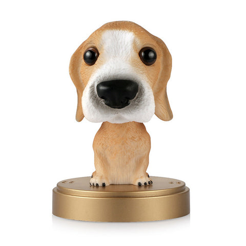 Free Dog Bobble Head Car Ornament