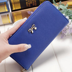 Free Women Bowknot Large Capacity Wallet