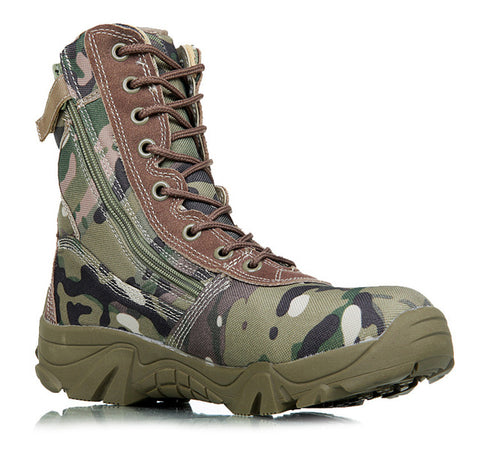 Men Camouflage Tactical Combat Boots