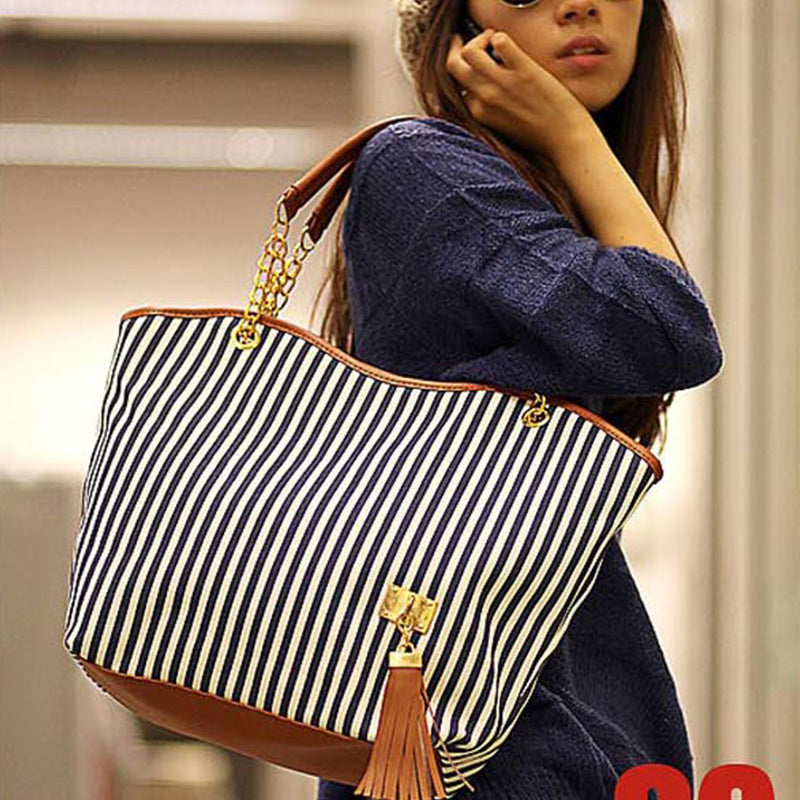 Fashion Tote Shoulder Bag - Free Plus Shipping