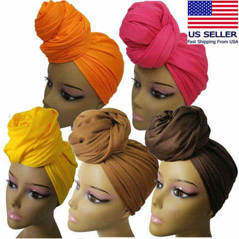 Compy Stretch Long Head Wrap
