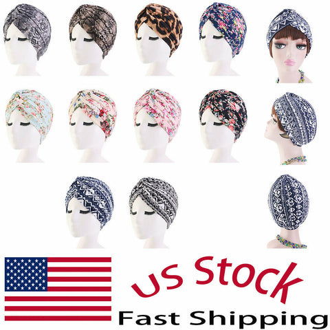 Cotton Folding Stretch Headwrap