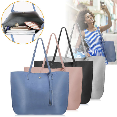 Women Leather Satchel Tote Bags