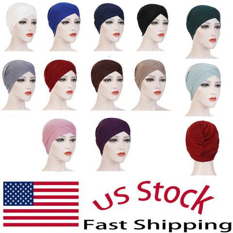 Women Headwrap Scarf Cap