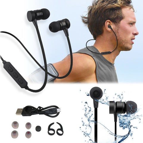 Earbuds - Wireless Bluetooth Mic Headset