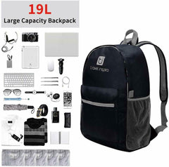 Women Men Shoulder Backpack