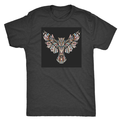 Fierce Owl Black Tees