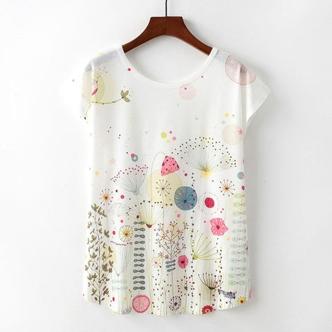FREE Summer Women Novelty Short Sleeve Tops
