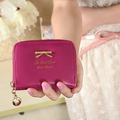 Fashion Women Leather Envelope Clutch Wallet