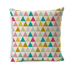 Colorful Geometric Pillow Covers