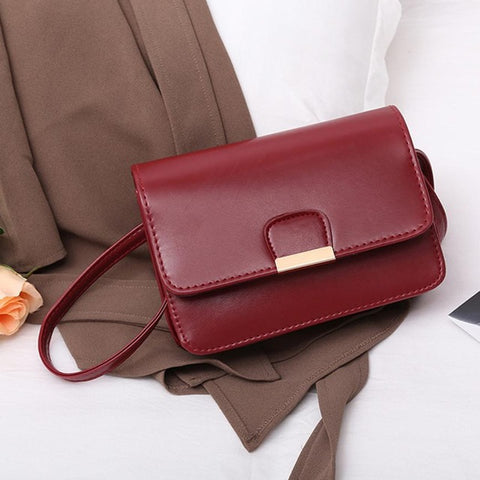 Women's Fashion Leather Messenger Handbags