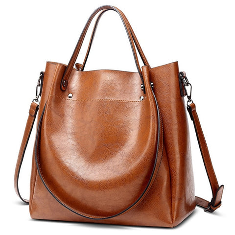 Casual Large Capacity Women Tote Shoulder Bag