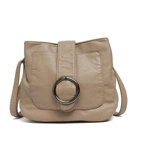 Women Candy Color Messenger Bags