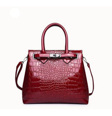 Women's Designer Crocodile Luxury Handbag