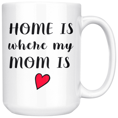 Mug - Home Is Where My MOM Is