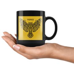 FIERCE Owl Mug - Gold