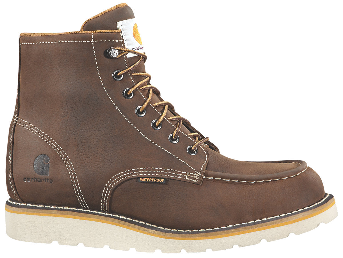 6af03c0750d Carhartt 6-Inch Brown Wedge Boot