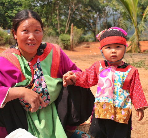 Hmong Thailand Tribe
