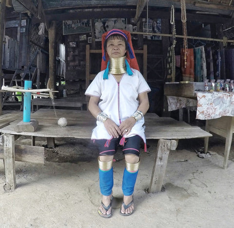 Karen Long Neck Tribe Artisan