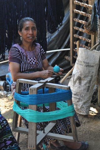 Fair Trade Hand Weaving Artisan