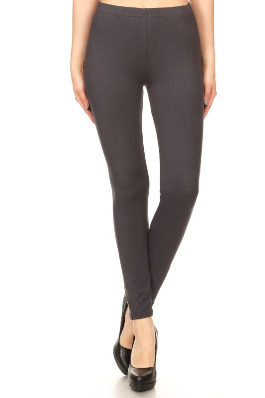 Charcoal Grey Leggings - pant
