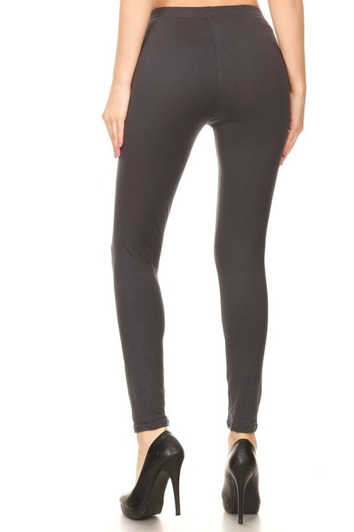 Charcoal Grey Leggings Pant