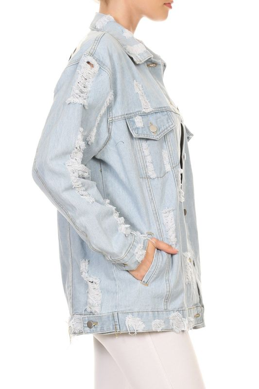 Fashion Tour Light Denim Jacket Jacket